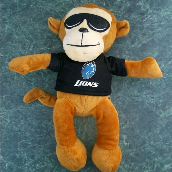 Rallymen Other Detroit Lions Cool Shades Monkey Plush Poshmark